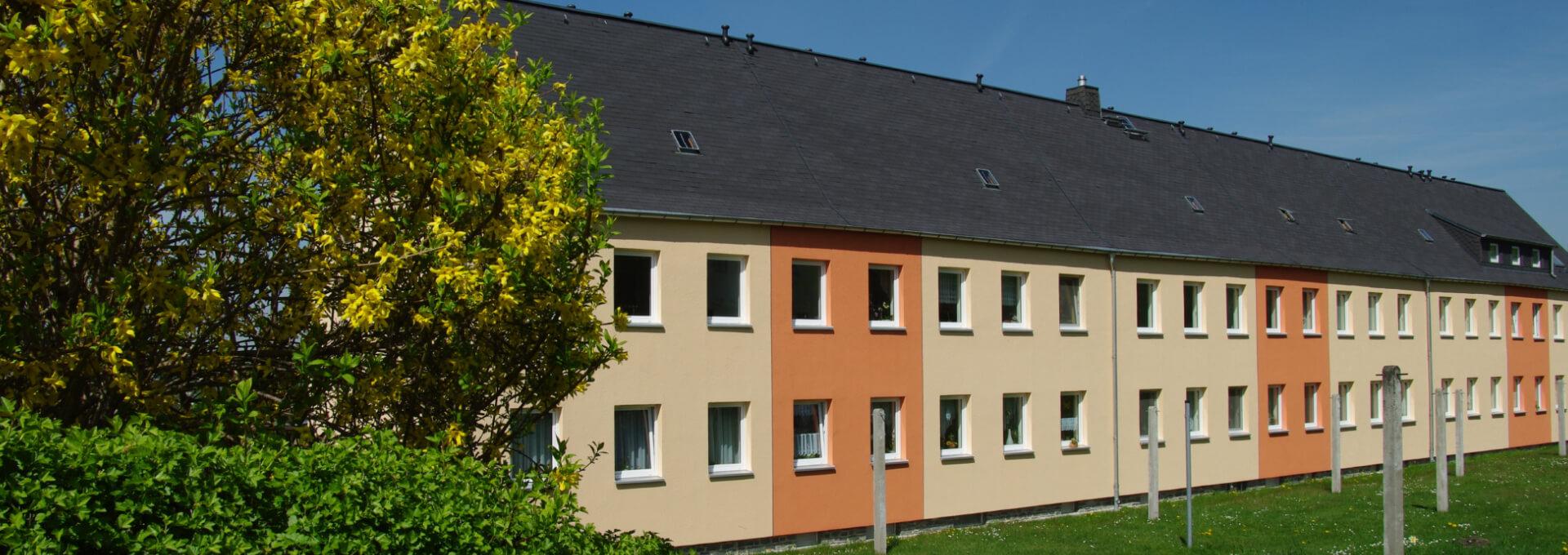 Wohngebiet Stadtblick Und Neue Heimat Grundstücks Und